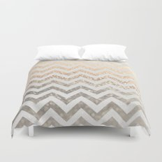 GOLD & SILVER  Duvet Cover
