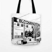 bloomington I Tote Bag
