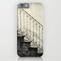 Stairs on a rainy day iPhone 6 Slim Case