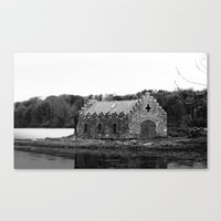 An old Irish Church Canvas Print