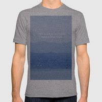 Dawn Mens Fitted Tee Athletic Grey SMALL