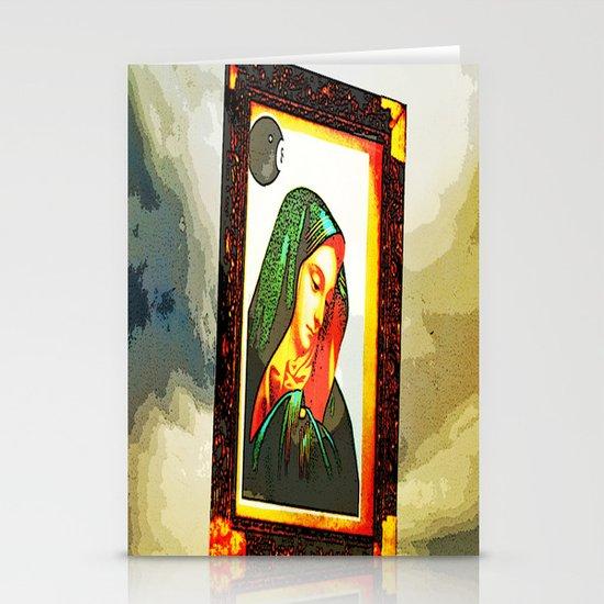 8 ball Mary Stationery Card