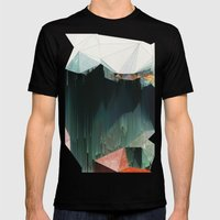 BRKNRFLCTN Mens Fitted Tee Black SMALL