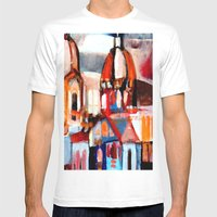 ROME #2 Mens Fitted Tee White SMALL