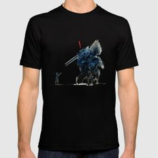 Metal Gear Solid Mens Fitted Tee Black SMALL