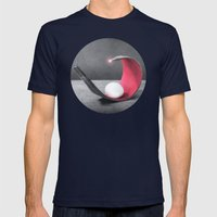BELLÁSS Mens Fitted Tee Navy SMALL