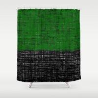 platno (green) Shower Curtain