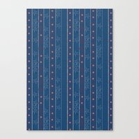 Captain Stripe Canvas Print