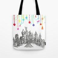 Party At Hogwarts Castle… Tote Bag