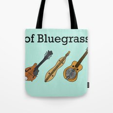 The ABCs of Bluegrass Tote Bag