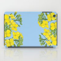 Summer flower in yellow iPad Case