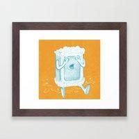 Rub A Dub, D'oh! Framed Art Print