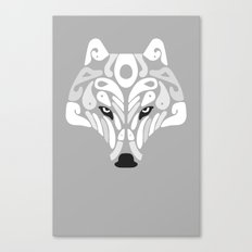 Ice Predator (Grey) Canvas Print