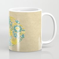 Little Flower Circle Mug