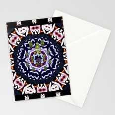 Japan flowers  style and sugar skulls Stationery Cards