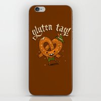 Gluten Tag iPhone & iPod Skin