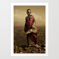 Ethiopia 3 Art Print