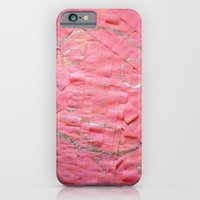 iPhone & iPod Case featuring Smile on a pink toilet paper by Art Pass