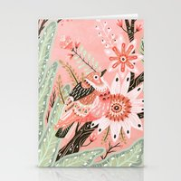 Little Pink Bird Stationery Cards