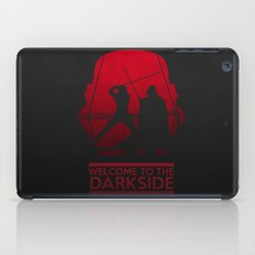 Welcome to the dark side iPad Case
