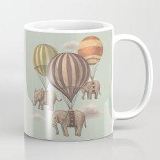 Flight of the Elephants - mint option Mug