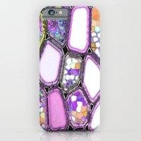 Purple-ish Cells iPhone 6 Slim Case