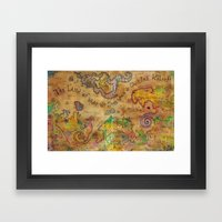 The Land Of What We See … Framed Art Print