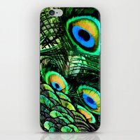 Oiled Peacock iPhone & iPod Skin