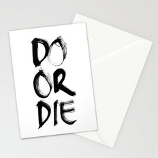 Do or Die Stationery Cards