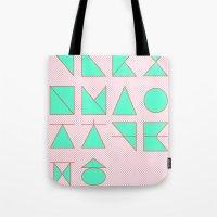 'ㄱ,ㄴ,ㄷ,ㄹ' (Korean Alphabet) Tote Bag