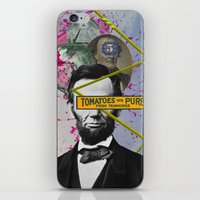 Public Figures -  Lincoln iPhone & iPod Skin