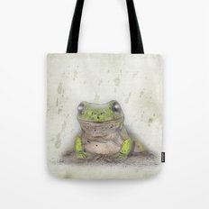 Jeremiah Was A Bullfrog Tote Bag