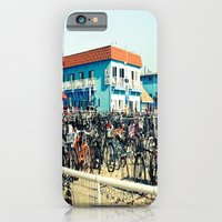 Bicycle Parking Lot iPhone 6 Slim Case