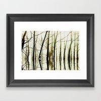 TREE TONES Framed Art Print
