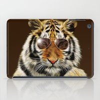 In The Eye Of The Tiger iPad Case