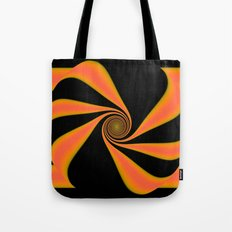 Abstract. Orange+Yellow. Tote Bag