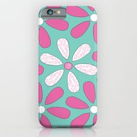 iPhone & iPod Case featuring Flower Pattern by Little_Biscuit