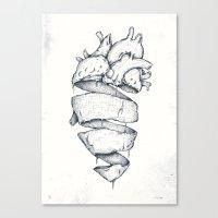 Heartbreaker Canvas Print