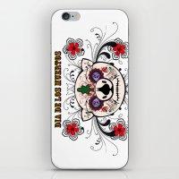 Berto: Dia De Los Muerto… iPhone & iPod Skin