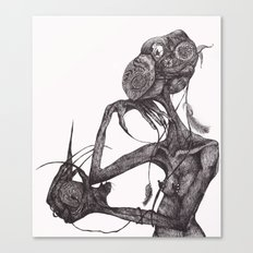 GET YOUR RAT OUT Canvas Print