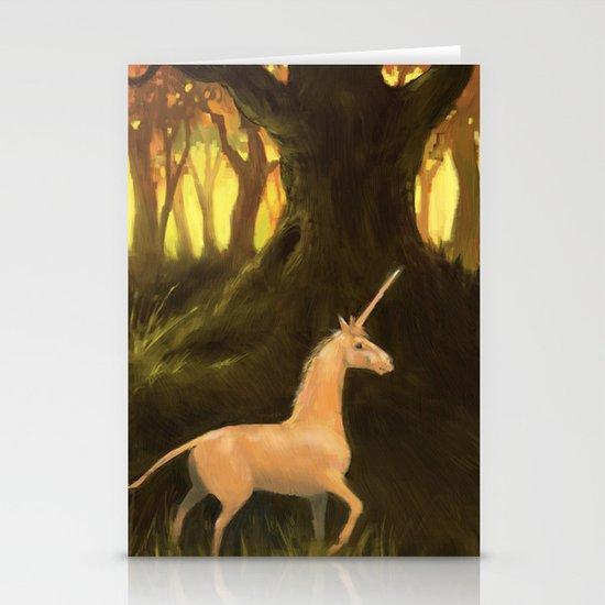 Unicorn Stationery Card