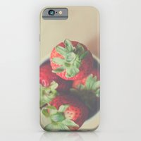 iPhone & iPod Case featuring Summerberries by Julia Goss Photography