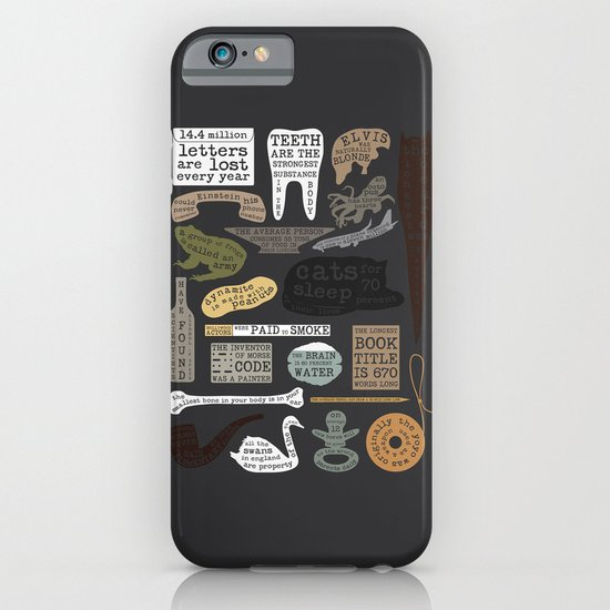 22 Facts - Useful Facts iPhone & iPod Case