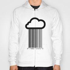 Barcode Cloud illustration  Hoody