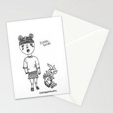 school sucks Stationery Cards