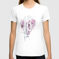 143 Womens Fitted Tee White SMALL