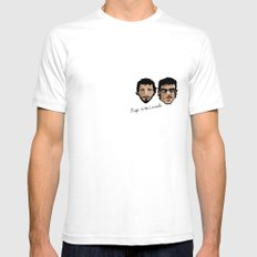 Flight of the Conchords SMALL White Mens Fitted Tee