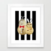 couple2 Framed Art Print