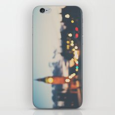 london lights iPhone & iPod Skin