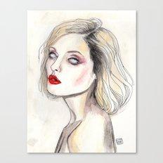 Debbie harry by Warhol  Canvas Print